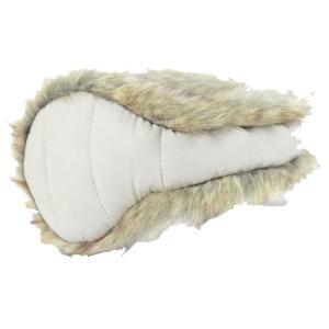 180S ウィメンズイヤーウォーマーDOWNWFUR/ 100 ESCW0003 女性用 ホワイト マフラー ファッション レディースファッション 財布 ファッション小物|od-yamakei