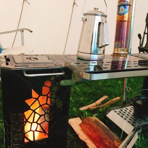 VICTORY CAMP ビクトリーキャンプ 耐熱ガラス VCKT-102 アウトドア ネイチャーストーブ 釣り 旅行用品 焚火ストーブ 焚火ストーブ アウトドアギア|od-yamakei
