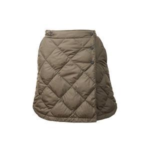 NANGA ナンガ ダウンスカート/KHA/F DSK-101 パンツ ファッション レディースファッション ボトムス ダウンパンツ ダウンパンツ女性用 アウトドアウェア|od-yamakei