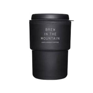 RIVERS リバーズ) ウォールマグ デミタ アンプラグド ブラック UPDMTBK マグカップ コップ アウトドア 釣り 旅行用品 マグカップ・タンブラー|od-yamakei