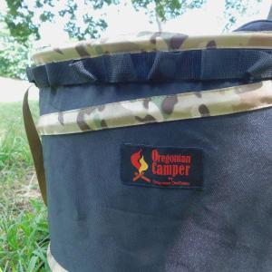 Oregonian Camper オレゴニアンキャンパー POP UPカモトラッシュボックス ブラック×カモ OCB-708 ブラック アウトドア 釣り 旅行用品 ダストボックス|od-yamakei