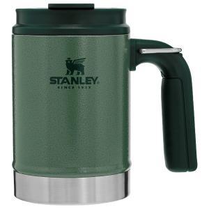 STANLEY スタンレー クラシック真空キャンプマグ 0.47L/グリーン 01693-027 マグカップ コップ アウトドア 釣り 旅行用品 アウトドアギア od-yamakei