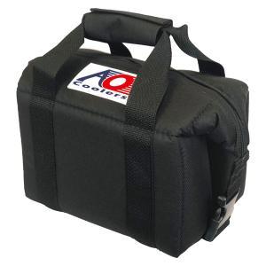 AO Coolers エーオークーラー 6パック キャンバス ソフトクーラー/ブラック AO6BK クーラーバッグ 保冷バッグ アウトドア 釣り 旅行用品|od-yamakei