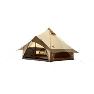 ogawa campal 小川キャンパル グロッケ8 2786 ブラウン 四人用(4人用) ドーム型テント アウトドア 釣り 旅行用品 キャンプ キャンプ用テント|od-yamakei