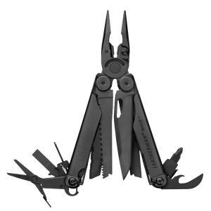 Leatherman レザーマン WAVE PLUS BK 72191 ブラック DIY 工具 道具 ドライバー レンチ マルチツール マルチツール アウトドアギア|od-yamakei