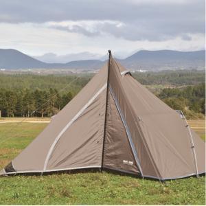 UNIFLAME ユニフレーム REVOルーム4プラス2/TAN 681985 四人用(4人用) ドーム型テント アウトドア 釣り 旅行用品 キャンプ キャンプ用テント キャンプ4|od-yamakei