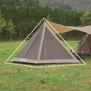 UNIFLAME ユニフレーム REVOフラップ2 TAN 681992 ブラウン アウトドア 釣り 旅行用品 キャンプ 登山 メッシュテント メッシュテント アウトドアギア|od-yamakei