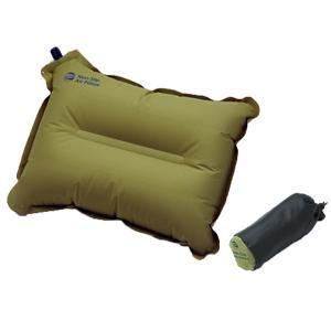 ISUKA イスカ ノンスリップエアピロー/オリーブ 208711 グリーン 枕 エアピロー アウトドア 釣り 旅行用品 アウトドアギア|od-yamakei