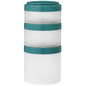 Blender Bottle ブレンダーボトル プロスタック エクスパンションパック/ティール 53001 グリーン 調味料ケース キッチン 日用品 文具 台所用品|od-yamakei