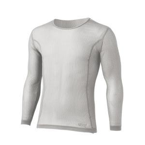finetrack ファイントラック スキンメッシュロングスリーブ Ms PA XL FUM0411 男性用 グレー Tシャツ アンダーシャツ アウトドア 釣り 旅行用品|od-yamakei