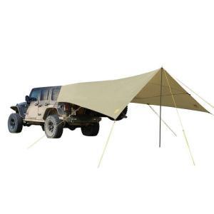 SLUMBER JACK スランバージャック ROADHOUSE TARP/SafariBeige A58755517 ベージュ キャンプ大型シェルタータープ アウトドア 釣り 旅行用品 キャンプ od-yamakei
