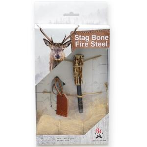 Bush Craft ブッシュクラフト) スタッグボーンファイヤースチール 22756 火起こし器 アウトドア 釣り 旅行用品 キャンプ 火おこし用品 火おこし用品|od-yamakei