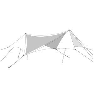snow peak スノーピーク HDタープ ヘキサエヴォ Pro. TAKIBIインナールーフ TP-250IR アウトドア 釣り 旅行用品 キャンプ 登山 インナーテント od-yamakei