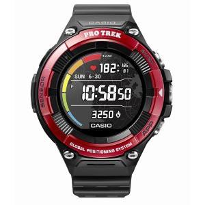 CASIO カシオ PRO TREK Smar レッド WSD-F21HR-RD 腕時計 ファッショ...