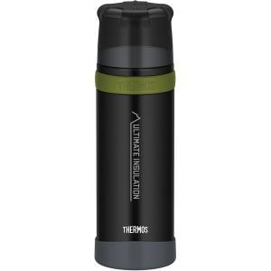 THERMOS サーモス 山専ステンレスボトル マットブラック MTBK 0.75L FFX-751...