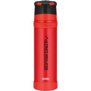 THERMOS サーモス 山専ステンレスボトル マットレッド(MTRD) 0.9L FFX-901 ...