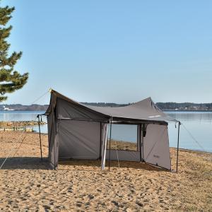 UNIFLAME ユニフレーム REVOウォール(solo)TAN 682067 タープテント アウトドア 釣り 旅行用品 キャンプ テントセット テント・タープセット|od-yamakei