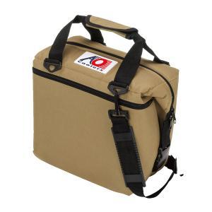 AO Coolers エーオークーラー 12パック キャンバス ソフトクーラー/サンドトープ AO12TA ベージュ クーラーバッグ 保冷バッグ アウトドア 釣り 旅行用品|od-yamakei