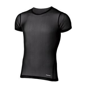finetrack ファイントラック ドライレイヤークールT MENS/BK/L FUM0822 男性用 ブラック インナーシャツ ファッション メンズファッション 下着 靴下|od-yamakei
