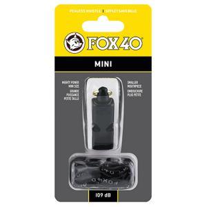 FOX40 フォックス40 ミニホイッスル/ BK 23261 ブラック ホイッスル アウトドア 釣り 旅行用品 キャンプ 笛 救助用 アウトドアギア|od-yamakei