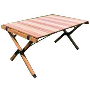 ANOBA アノバ) ウッドロールトップテーブル AN005 アウトドアテーブル アウトドア 釣り 旅行用品 キャンプ ローテーブル アウトドアギア|od-yamakei