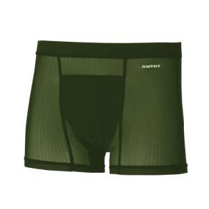 finetrack ファイントラック ドライレイヤークールボクサー MENS/OD/M FUM0827 男性用 グリーン インナーウエア ファッション メンズファッション 下着 od-yamakei