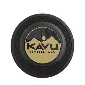 KAVU カブー ディスク/Black 19820326 ブラック スポーツ ストリート系スポーツ フライングディスク フライングディスク アウトドアギア|od-yamakei