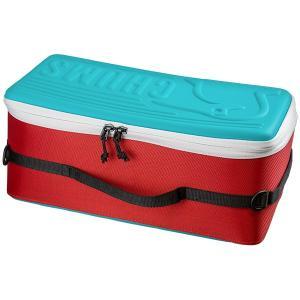 CHUMS チャムス Booby Multi Hard Case Teal-Red CH62-1206 アウトドア 釣り 旅行用品 キャリーバッグ コンテナ コンテナ アウトドアギア od-yamakei