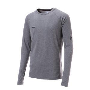 Mammut マムート Aegility Longsleeve AF Men/phantom melange/M 1016-00780 男性用 長袖 ファッション メンズファッション トップス シャツ 長袖Tシャツ od-yamakei