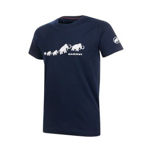 Mammut マムート QD Logo Print T-Shirt AF Men/marine PRT3/S 1017-02010 男性用 シャツ ポロシャツ アウトドア 釣り 旅行用品 半袖Tシャツ|od-yamakei