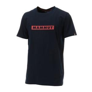 Mammut マムート QD Logo Print T-Shirt AF Men/marine PRT2/M 1017-02010 男性用 シャツ ポロシャツ アウトドア 釣り 旅行用品 半袖Tシャツ|od-yamakei