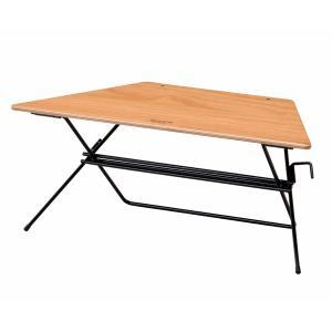 HangOut(ハングアウト) アーチテーブル シングル Wood Top FRT-73WD アウトドアテーブル アウトドア 釣り 旅行用品 キャンプ ローテーブル|od-yamakei
