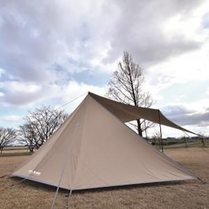 UNIFLAME ユニフレーム REVOフラップII TC/TAN 682098 アウトドア 釣り 旅行用品 キャンプ 登山 アーチタープ アーチタープ アウトドアギア|od-yamakei