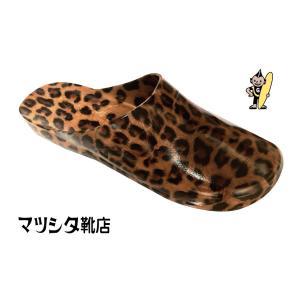 PANTHER(パンサー・ヒョウ柄)GYOSAN(ギョサン) サボ型 レディース|oda-matsu