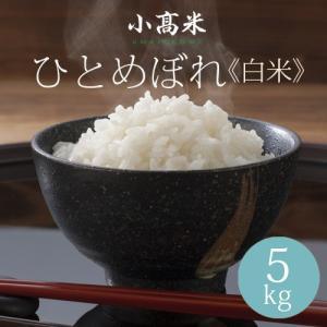 うるち米 精白米 米 お米 ひとめぼれ 小高米 5kg 令和元年
