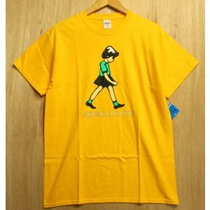 DEAR SKATING (ディアスケーティング,Tシャツ) Speculums Tee GOLD oddball-skate-snow