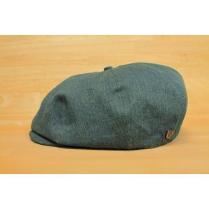 BRIXTON (ブリクストン,キャップ,ハット,ハンチング) BROOD SNAP CAP DARK DENIM|oddball-skate-snow