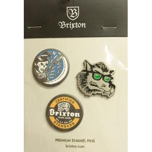 BRIXTON (ブリクストン,ピン) SLEEPER PIN PACK|oddball-skate-snow