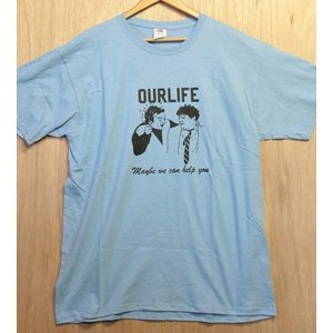OURLIFE (アワーライフ,Tシャツ) HELP TEE L.BLUE|oddball-skate-snow