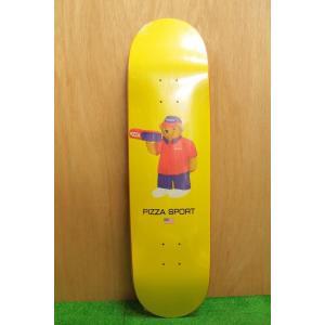 PIZZA SKATEBOARD (ピザスケートボード,ピザベアー) PIZZA BEAR 8.25|oddball-skate-snow