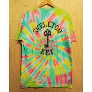 SKELETON KEY (スケルトンキー,タイダイ,Tシャツ) BRANDED KEY S/S TEE tie dye 1|oddball-skate-snow