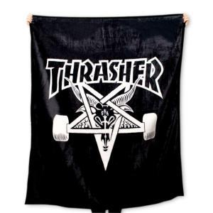 THRASHER (スラッシャー,ブランケット) SKATEGOAT BLANKET|oddball-skate-snow