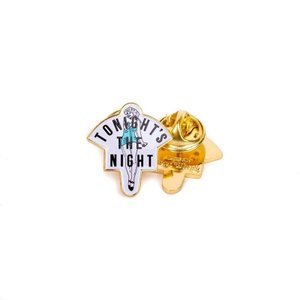 GOOD WORTH & CO (グッドワース,ピンッヂ,ピン) TONIGHTS THE NIGHT PIN|oddball-skate-snow