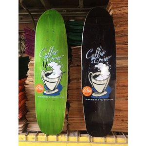 BLUE SKATEBOARD (ブルースケートボード,クルーザーデッキ) COFFEE CRUISER 8.0