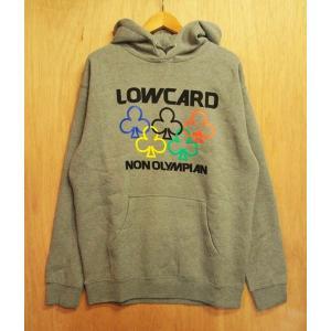 LOWCARD (ローカード,パーカー,プルオーバー,フード) NON OLYMPIAN PULLOVER gray|oddball-skate-snow
