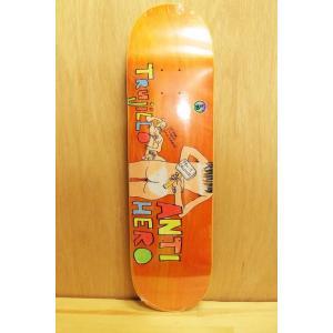 ANTI HERO (アンタイヒーロー デッキ ポーラスウォーカー) TRUJILLO  POROUS2 8.28|oddball-skate-snow