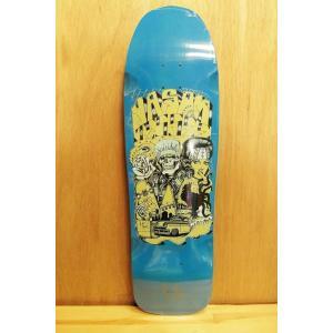 SUICIDAL SKATE (スーサイダルスケート,デッキ,ジェーソンジェシー) SUICIDAL POOL SERIES JJ GUEST blue 9.5|oddball-skate-snow