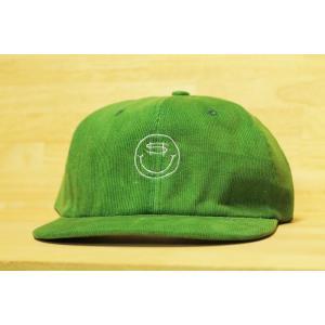 SNACK (スナック,スケート,コーデュロイキャップ) COIN CORDUROY POLO CAP green|oddball-skate-snow