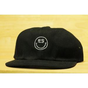 SNACK (スナック,スケート,キャップ) COIN CANVAS POLO CAP black|oddball-skate-snow