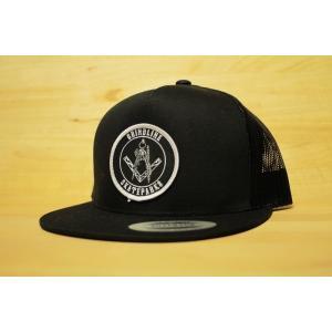 GRINDLINE (グラインドライン,メッシュキャップ) POSSESSED MESH CAP black oddball-skate-snow